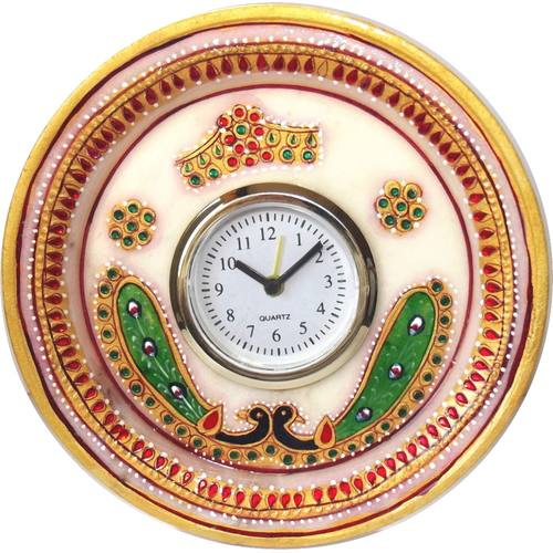 Marble Alarm Clock 6 Inch