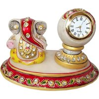 Ganesha Idol With Clock