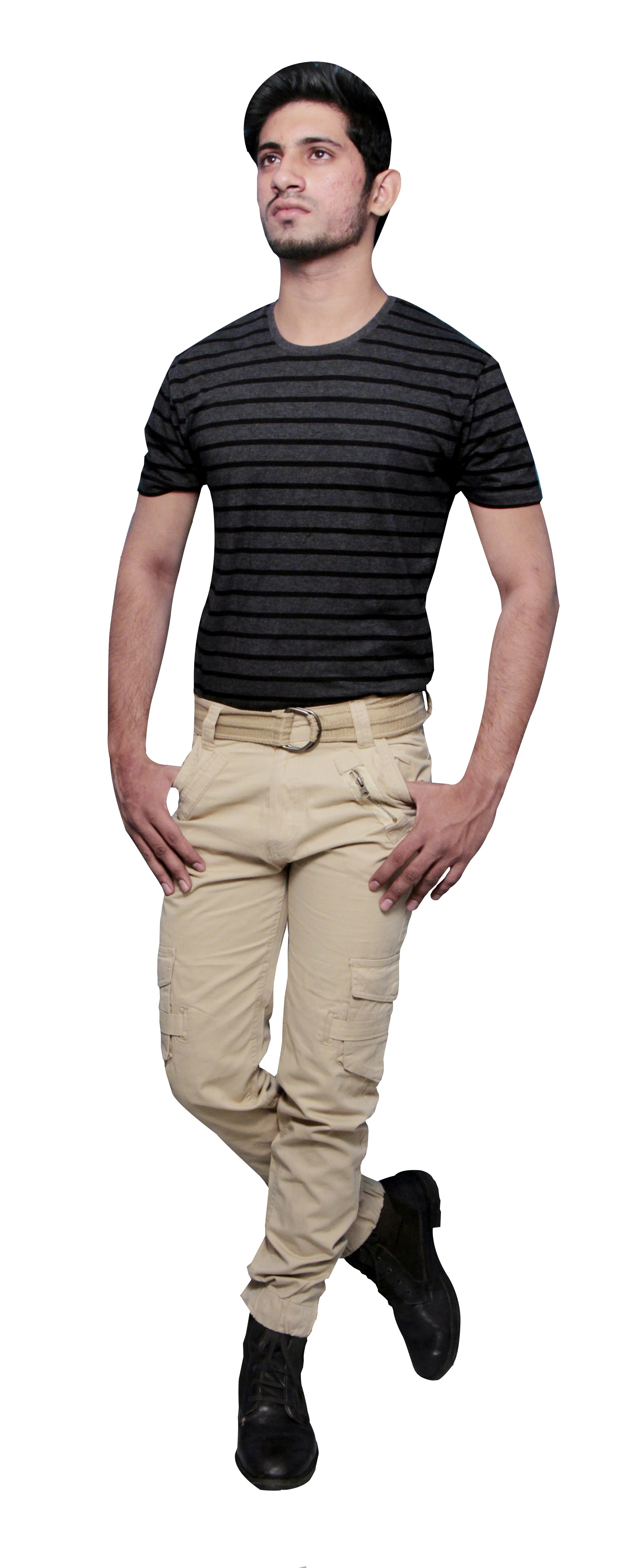 Six Pocket Cargo Trousers