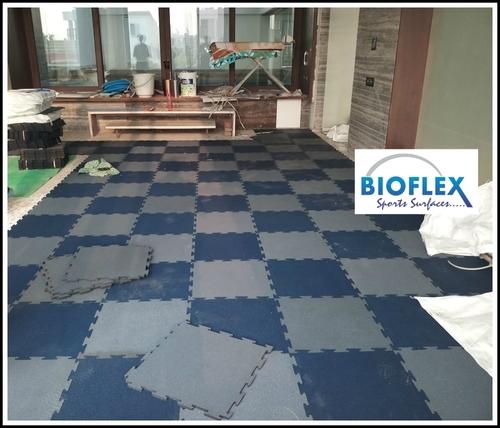 Interlock Rubber Flooring
