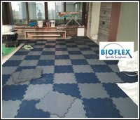 Interlock Rubber Flooring