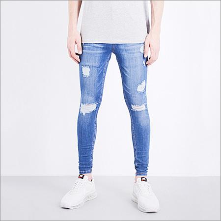 Mens Skin Fit Jeans