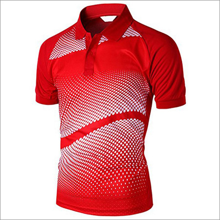 Men's Printed Polo T-Shirt