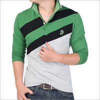 Mens Collared Polo T-Shirt