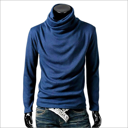 Mens Turtle Neck T-Shirt