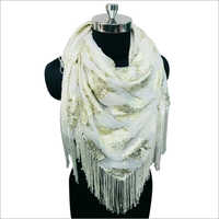 Ladies Tassel Scarf
