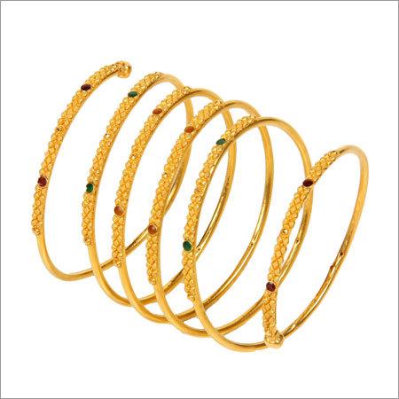 Gold Spiral Chur
