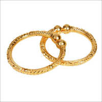 Gold Round Bangles