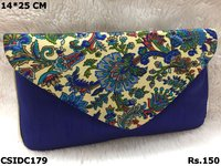 Raw Silk Beautiful Clutch