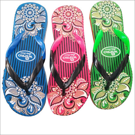 Ladies Rubber Slipper