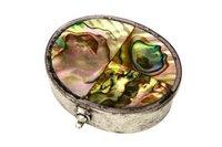 Abalone Shell MOP Box