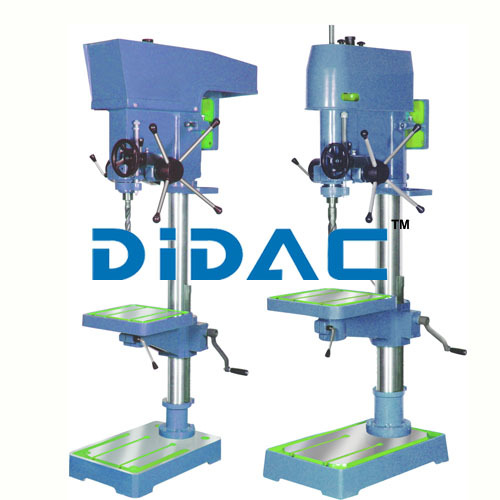 Manual Feed Drilling Cum Tapping Machine