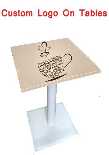 Custom Logo On Tables