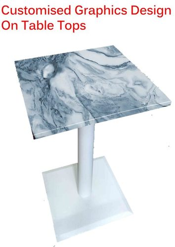Customised Graphics Design On Table Tops