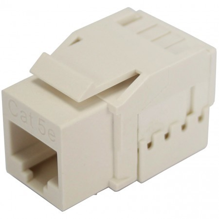 Cat5E UTP 90 Degree 110 Krone Keystone Jack