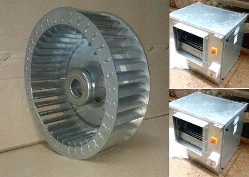 Inline Fan With SISW Blower 1600 CFM