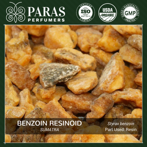 Benzoin Resinoid Oil