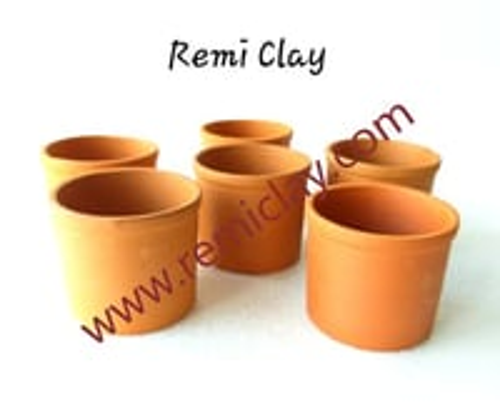 Clay Round Glasses