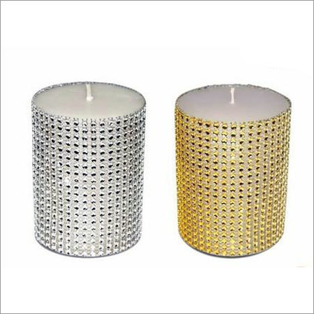 3 X 3 Designer Pillar Candle