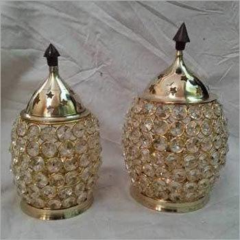 Akhand Deep / Crystal Diya / Crystal lamp