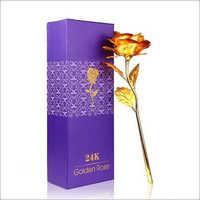Golden Rose Valentine Gift