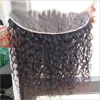 Raw deep curly frontal