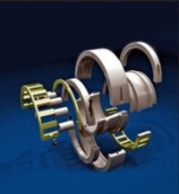 Zkl Cross Split Roller Bearings