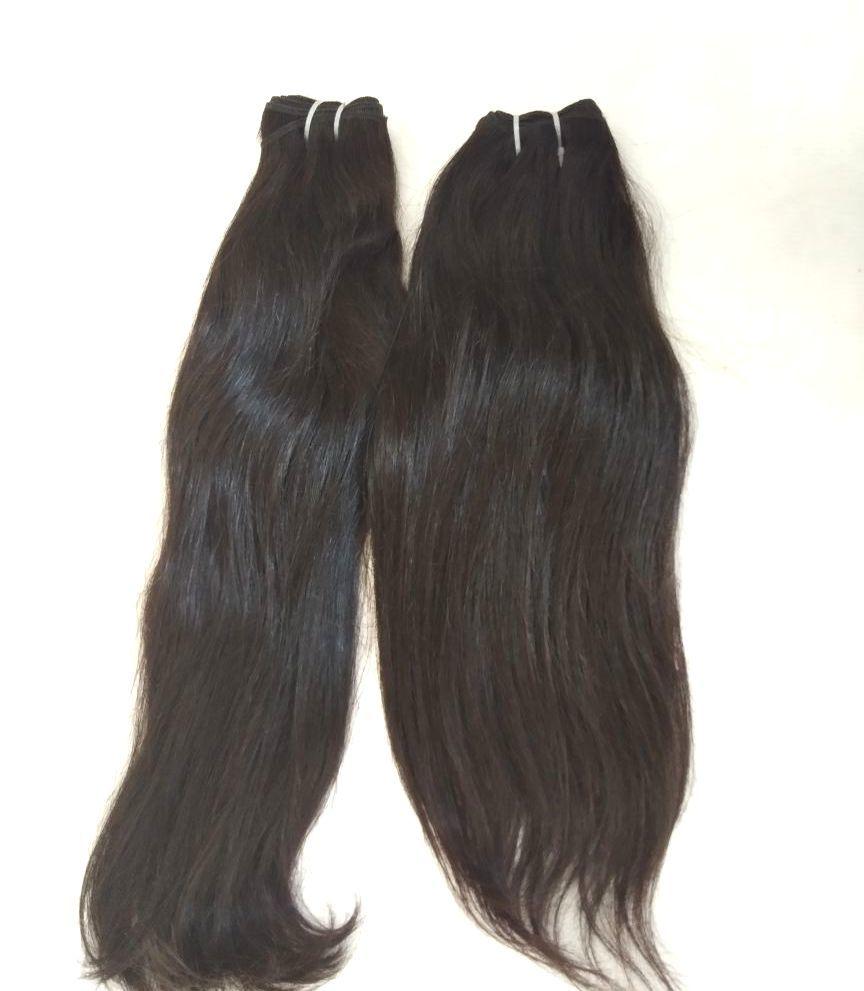 Brazilian Virgin Hair Straight , Indian Straight Hair Extension
