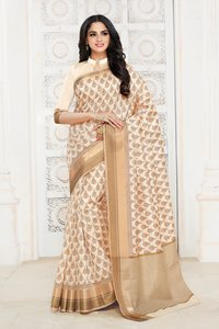 Traditional Wear Tussar Silk Saree