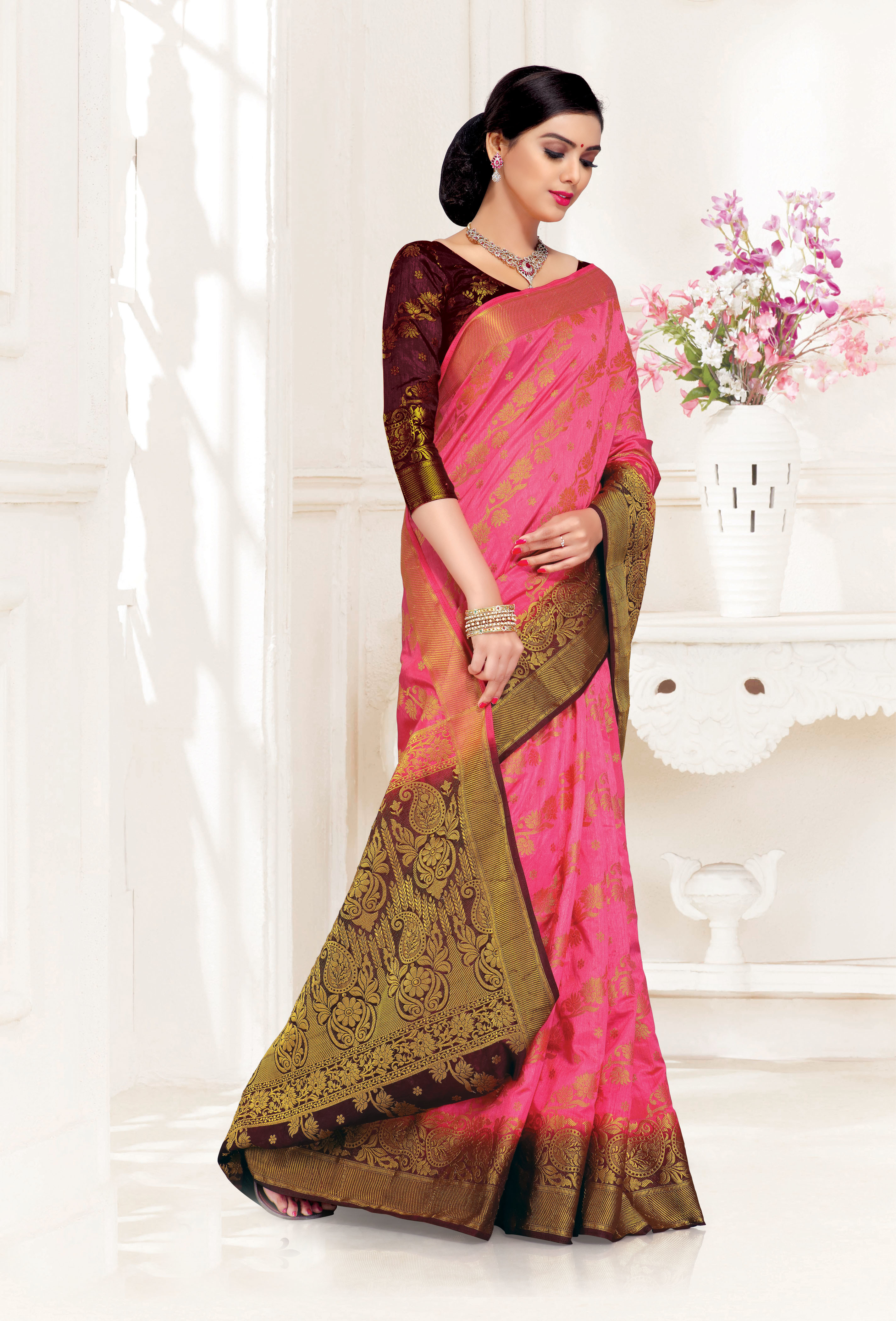 Traditional Upadda Silk Saree