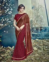 Designer Heavy Party Wear Saree