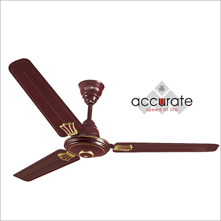Flora Brown Ceiling Fan
