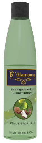 Olive & Shea Butter Shampoo with Conditioner