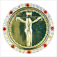 Jesus Christ Gold Plated Coin