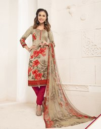 Exclusive designer Prited Patiala Suits