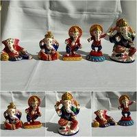 Meenakari Ganesh idol