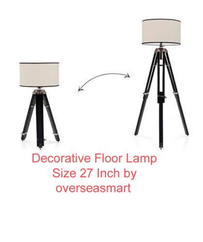 Hubble Tripod Floor Lamp