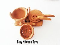 Clay Kitchen Toys