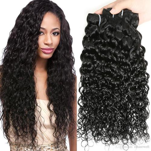 Water Wave Curly Human Hairs
