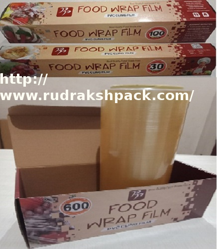 Plastic Wrap Cling Film - RUDRAKSH PACKAGING, Shop No 41, Ground