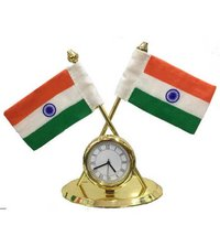 Flag with Clock