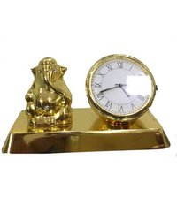 Ganesh With Clock