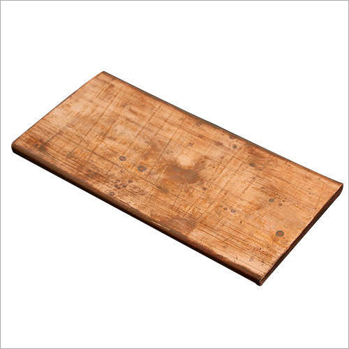 Electrolytic Copper Earthing Plate