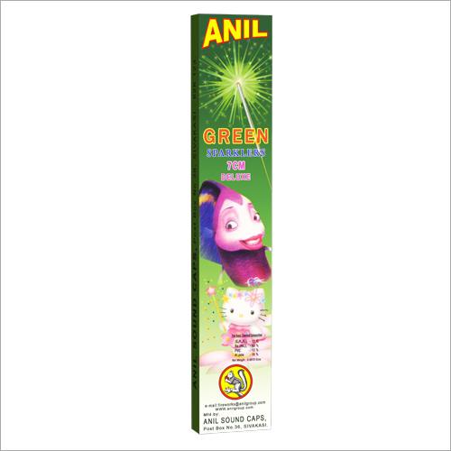 7cm Green Sparklers