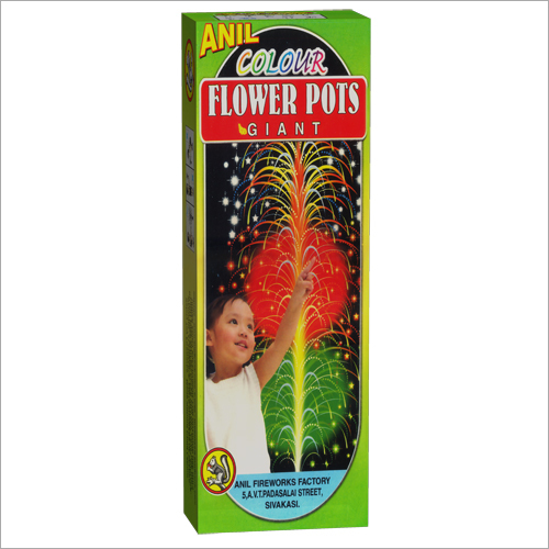 Color Flowerpots Giant Cracker