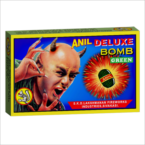 Anil Deluxe Bomb Green Firecrackers