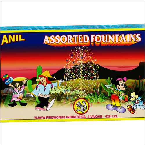 Assorted Fountains Cracker