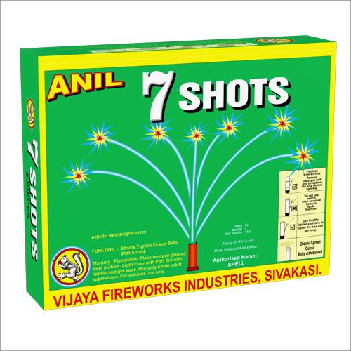 7 Shots Green Firecracker