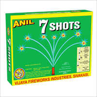 7 Shots Green Firecracker