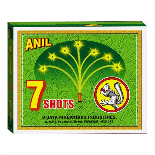 Automatic Colour Shots(Green) 15 Firecracker